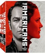 The Americans Complete Series Season 1 2 3 4 5 6 [New DVD Sets] - $99.99