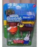 Miffy's Adventures Big & Small BORIS at the WORKSHOP Mini Set New - $6.81