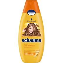 Schwarzkopf Schauma Oil Intense Shampoo XL 400ml-FREE US SHIPPING - $16.82