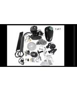 80cc 2-Stroke Bicycle Gasoline Engine Motor Kit DIY Motorized Bike Black... - $128.97