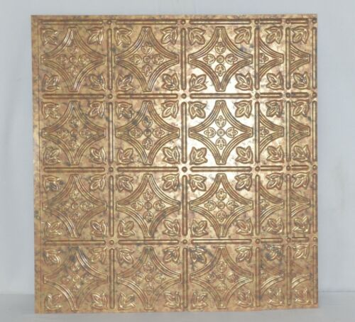 Fasade B5019 Cracked Copper BackSplash Panel Set of 3 Pieces