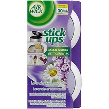 Air Wick Stick Ups Air Freshener, Lavender and Chamomile, 2 ct Pack of 12