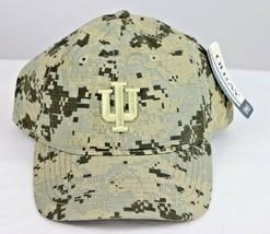 Indiana Hoosiers NCAA Digital Camo Grey/Sand Cap Hat, Adjustable Size OS - $24.74