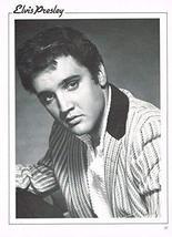 """Elvis Presley - George Raft - 11"""" x 8"""" Teen Magazine Poster Pinup - George Ranft - $5.92"""