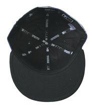 Dissizit Dx11 Ossa Percalle Blu & Nero NEW ERA 59FIFTY Aderente Baseball Hat Nwt image 7