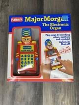 1989 Playskool Major Morgan The Electronic Organ Original Box With Music Cards - $46.75