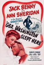 George Washington Slept Here - 1942 - Movie Poster - $9.99+