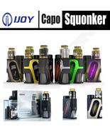 AUTHENTIC iJOY CAPO SQUONKER KIT 100W w/ COMBO RDA | INCLUDES 20700 MOD ... - $48.95