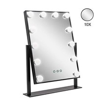 AILEEKISS Makeup Mirror with Lights Vanity Mirrors 12pcs Dimmable LED Bulbs with