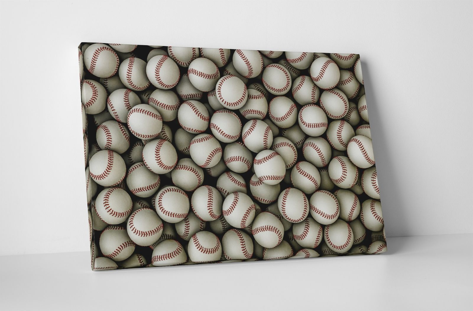 """Baseballs Gallery Wrapped Canvas 20""""x30"""" - $52.42"""
