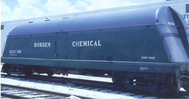 Funaro & Camerlengo HO Borden's Milk Tank Car  Bordens Chemical  Division Kit  1 image 2