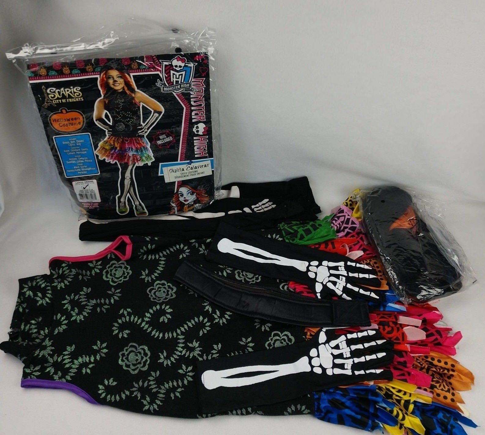 ... Rubies Monster High Skelita Calaveras Halloween Costume Dress Girl Medium 8-10 ... & Rubies Monster High Skelita Calaveras and 40 similar items