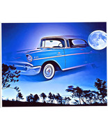 vintage classic car abstract digital art print autos heaven surreal fant... - $7.99