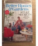 Better Homes & Gardens Style Secrets The Style Maker Issue September 2017 - $3.96