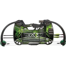 Barnett 1103 Tomcat Junior Kids Youth Compound Bow & Arrow Archery Set NEW - $61.95