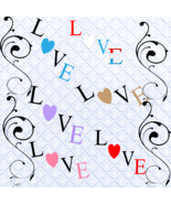 Love 7a-Digital ClipArt-Art Clip-Gift Tag-Tshirt-Notebook-Scrapbook-Gift... - $3.99