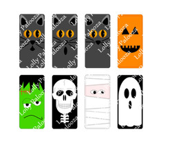 Spooky Domino Images DIGITAL File.  Instant Download.  PNG & SVG files.  No Phys