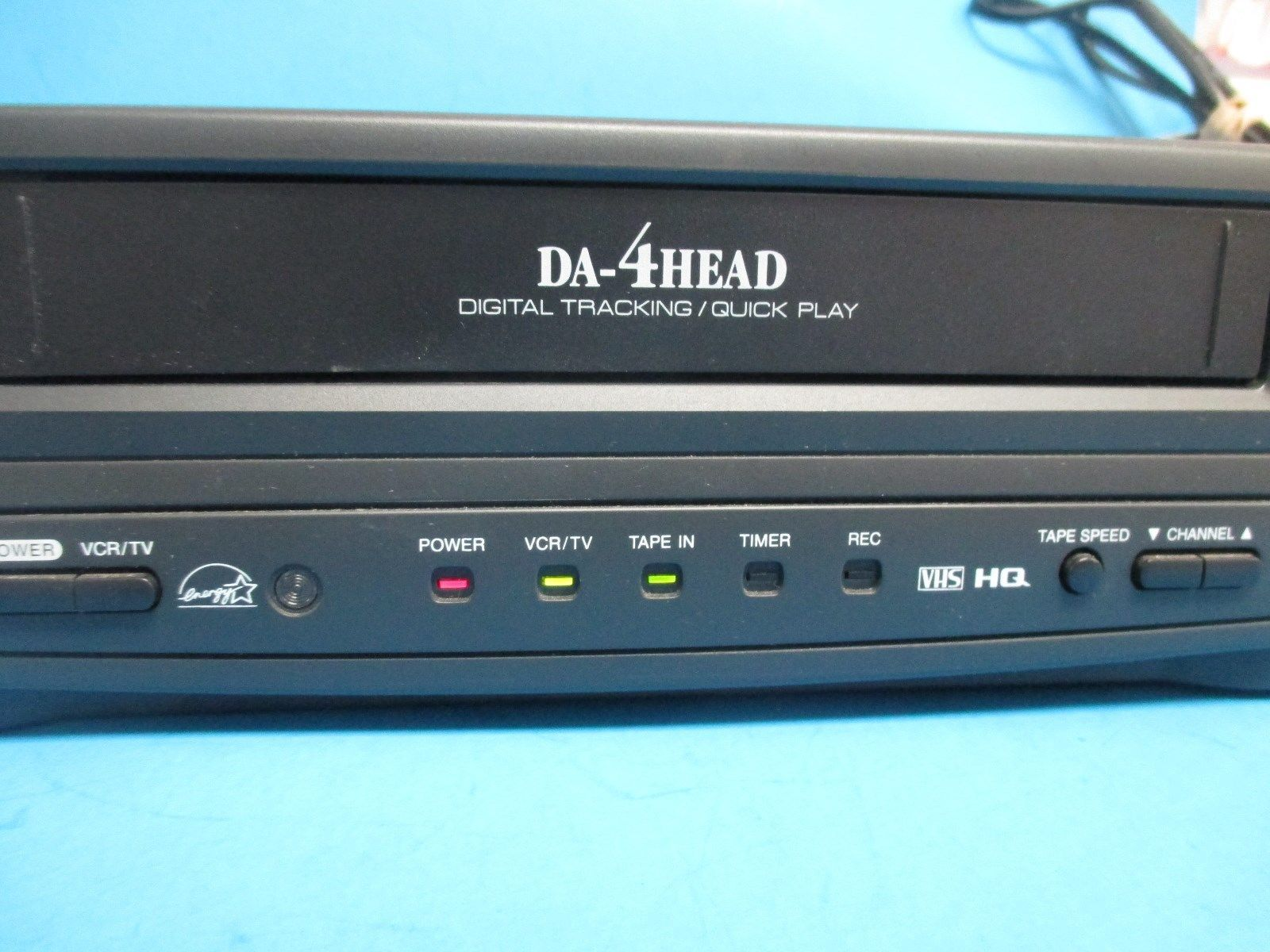 Emerson EWV401 VCR Video Cassette Recorder and 50 similar items