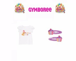 """Gymboree baby girl """"Birthday Shop"""" B-Day Top or Clip U PICK   6-12/2T/3T/4T - $7.28+"""