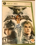 Soul Calibur IV (Microsoft Xbox 360, 2008) INCLUDES, THE CASE+DISC+NO MA... - $7.99