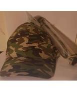 Camo Baseball Cap with Shield (LOC EC-11) - $14.01