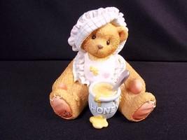 Cherished Teddies bisque figurine Honey of a Friend Adoption event 1998 ... - $8.64