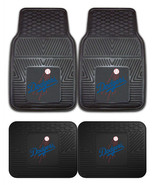 Los Angeles Dodgers Car Mats 2Pc or 4Pc Front and Rear Heavy Duty Vinyl - $35.99+
