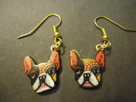 Artistic Bulldog Earrings #9293 >> Combined Shipping - $6.50