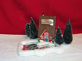 "DEPT 56-Snow Village ""WARMING HOUSE""- 1989 - retired - EXCELLENT - origi... - $23.27"