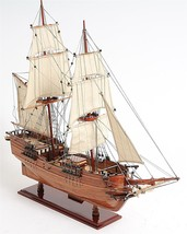 Fully Assembled Model Ship Lady Washington Hand Crafted from Red Cedar New - $365.59