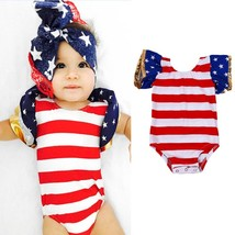 2017 Pudcoco 0 24M Fashion Cute Newborn Toddler Baby Bodysuits Brand New Kids Gi - $9.39