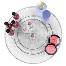 Turntable Cosmetic Makeup Vanity Rack 2Tier Beauty Product Stand Lazy Su... - $27.80