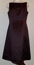 David's Bridal Brown Dress Size 10 Formal Bridesmaid Sleeveless Knee-Length - $19.30