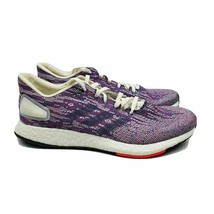 Adidas Womens PureBoost DPR Purple Grey Running Shoes Sneakers F36447 Si... - $69.95