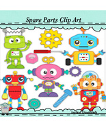 Spare Parts Clip Art - $1.35