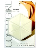1 Covergirl Makeup Masters Sponge Wedge-One pack-6 wedges Cover Girl New... - $28.68