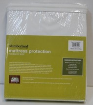 Slumberland Twin Mattress Protection White Smooth Breathable image 1