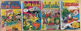 LIFE WITH ARCHIE lot of (4) issues, as shown (1975-1977) Archie Comics G/VG - $9.89