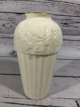 Pfaltzgraff Ivory Bone china American Artware Made in USA 7 Inch Tall Vase - $32.18