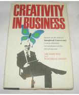 Creatività IN Business Da Rochelle Myers E Michael L. Ray 1986, Copertin... - $9.40