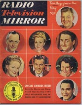 ORIGINAL Vintage May 1951 Radio TV Mirror Magazine Awards Issue - $18.51