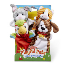 MELISSA & DOUG Playful Pets Hand Puppets - $19.99