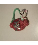 Hannah Montana Barbie Doll Purse White Dog Replacement Accessory Only - $5.99