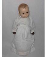 "SO SWEET Vintage 15"" Hard Plastic Magic Skin BABY Doll - $67.54"