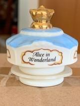 1995 Disney Lenox Porcelain Alice In Wonderland Spice Jar Top Cover Only... - $8.99