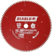 Freud D12100X 100 Tooth Diablo Ultra Fine Circular Saw Blade for Wood an... - $64.00