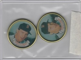 1987 Topps Coins Red Sox  Roger Clemens Lot of 2 - $1.80