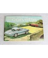 1963 Corvette Owner's Guide Manual - $79.19