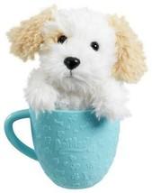Animagic Tea Cup Pets - White Puppy - 31218 - NEW - $15.70