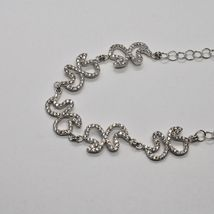 Silver Necklace 925 Wings of Butterfly with Zircon by Maria Ielpo Made in Italy image 4